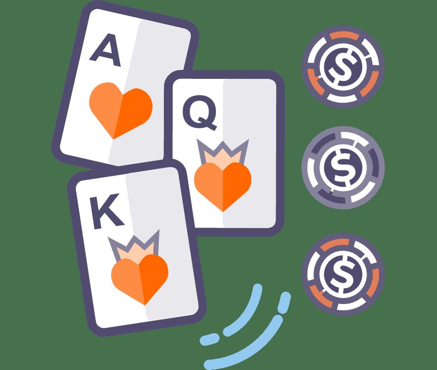Играйте Покер с три карти онлайн – Топ 38 Мобилно Казиноа, плащащи най-много за 2021 г.