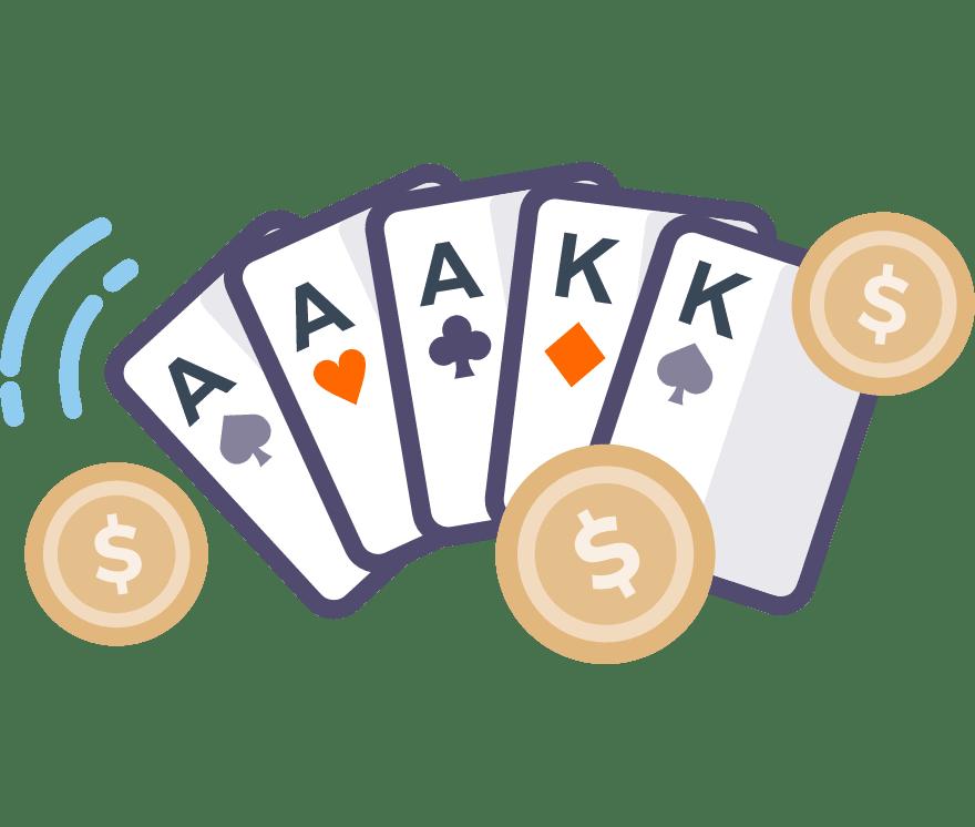 Играйте Покер онлайн – Топ 65 Мобилно Казиноа, плащащи най-много за 2021 г.